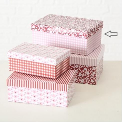 Kartónová krabica Fleuri 21 cm - veľ. 3
