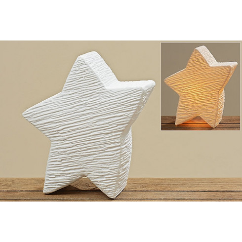 c8f25d3c4 Porcelánová lampa v tvare hviezdy - 28 cm