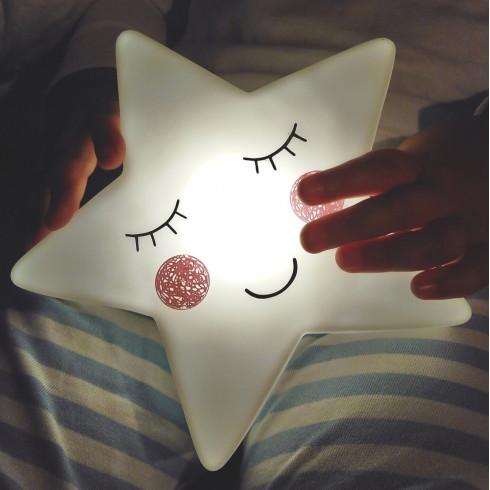 f18749297 Nočné LED svetlo do detskej izbičky Hviezda