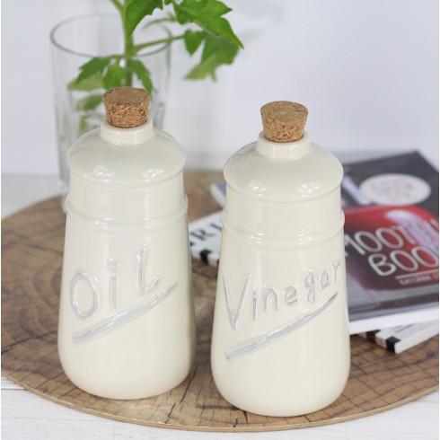Keramické nádoby na olej / ocot - 600 ml