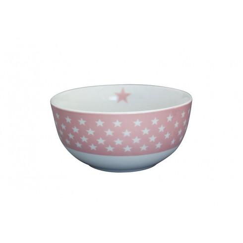 Porcelánová miska Pink stars 600 ml