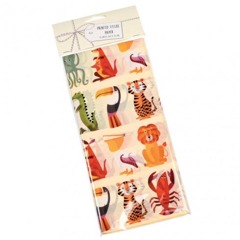 Papierové obrúsky so zvieratkami 10 ks