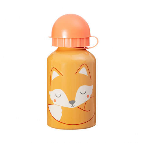 Detská fľaša na vodu s motívom líšky
