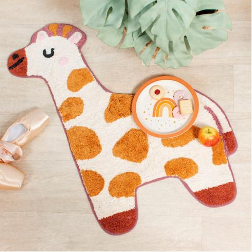 Detský bavlnený koberček Žirafa