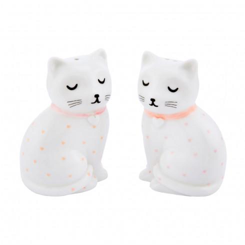 Porcelánový set koreničiek Mačičky